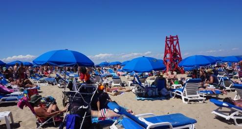Ballard's Beach, July 4th weekend.