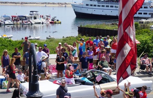 July 4th parade on Block Island