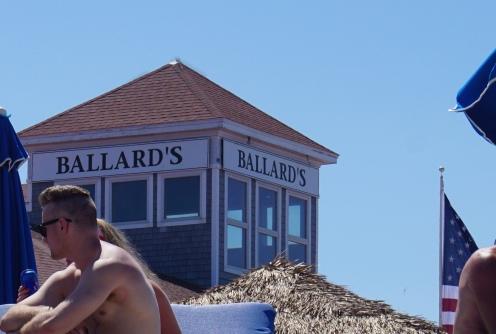 Photo taken from Ballard's beach.
